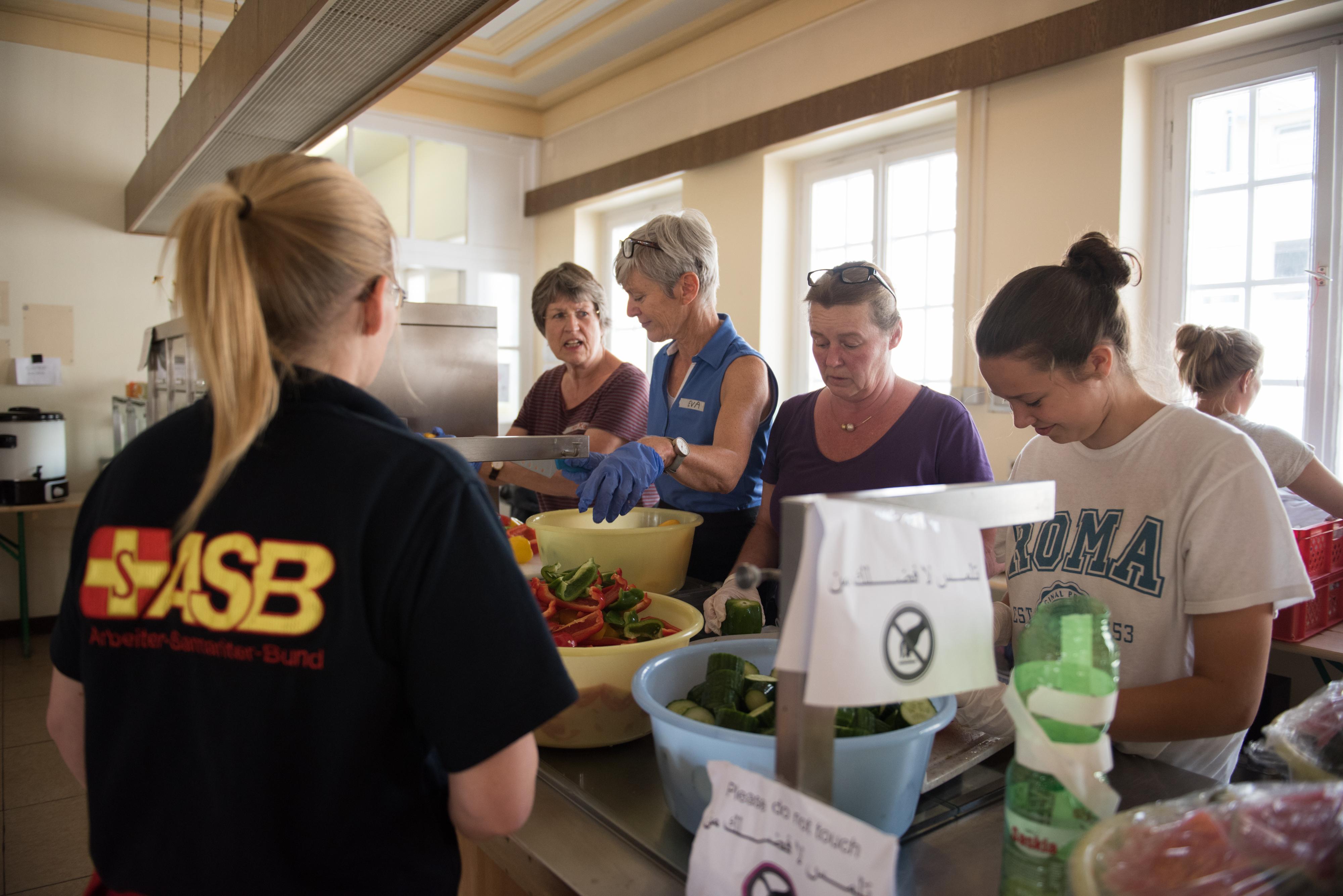 ASB-Notunterkunft in Berlin-Wilmersdorf